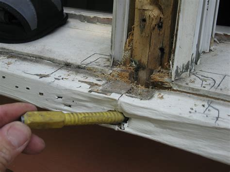 Replace Rotted Window Sill by Repairing A Window Sill A Concord Carpenter