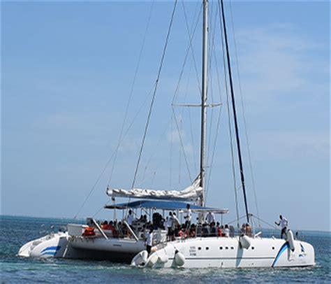 Full Day Isla Mujeres Catamaran Sailing Adventure by Cancun Catamaran