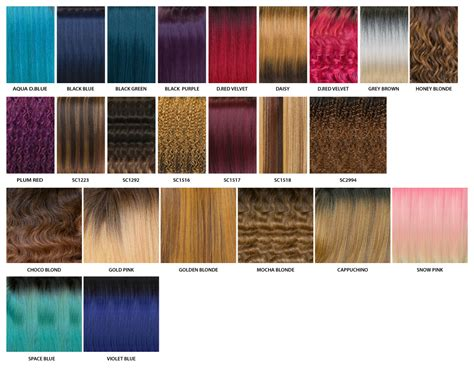 Color Of by Color Chart