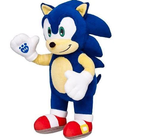 Sonic and Tails Stuffed Animals