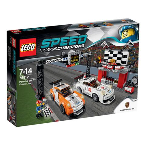 lego speed chions porsche lego speed chions porsche 911 gt finish line 75912 iwoot