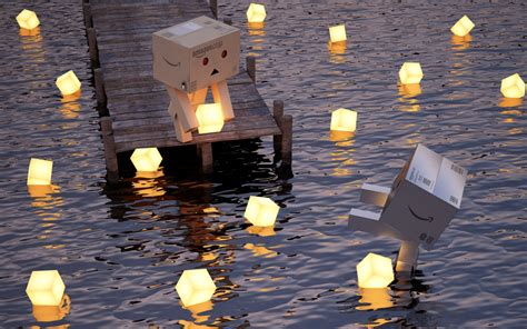 danbo art mystery wallpaper