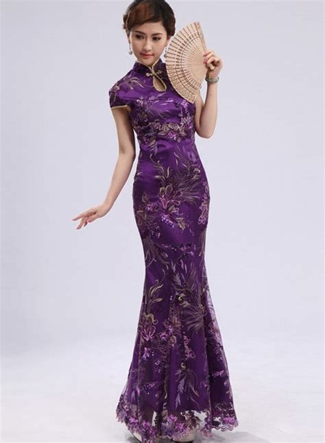 model  gambar cheongsam dress modern
