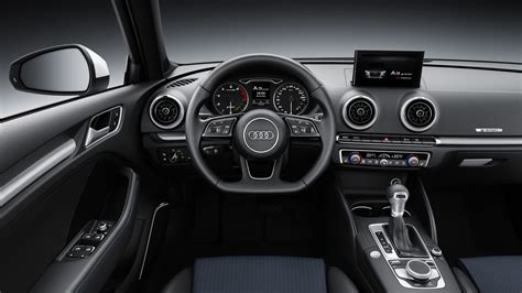 audi a3 interior 2016 audi a3 s3 facelift revealed increased tech s3