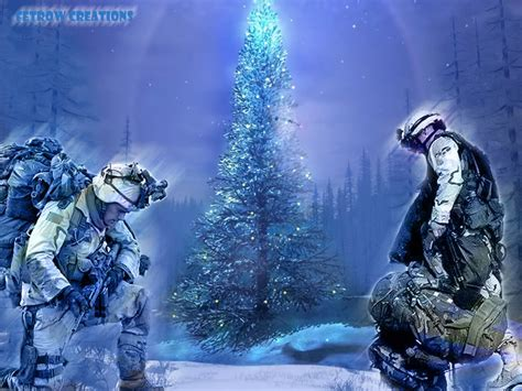 american ranger twas the night before a soldier s christmas