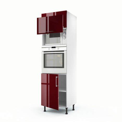 meuble cuisine pour four et micro onde meuble cuisine colonne four micro onde maison et