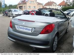 Peugeot 207 Cc Occasion : peugeot 207 cc 1 6l vti 120cv sport pack 2009 occasion auto peugeot 207 cc ~ Gottalentnigeria.com Avis de Voitures