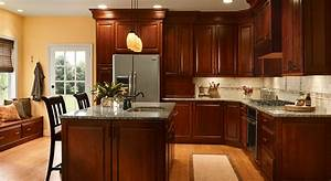 4 unique ways to use cherry cabinets in your kitchen With what kind of paint to use on kitchen cabinets for sticker making machine