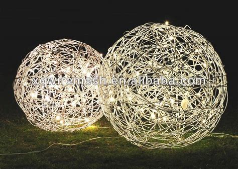 china cheapest christmas ball christmas wire ball ornament
