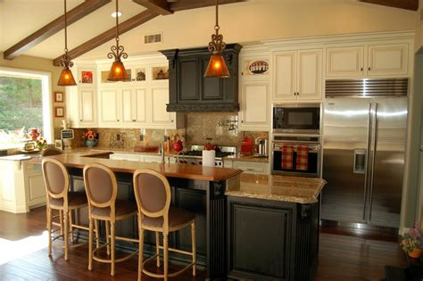 Houzz Kitchen Islands Intended For House