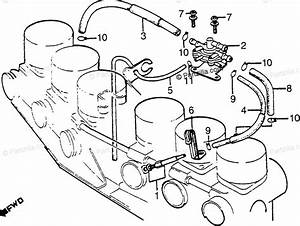 Honda Motorcycle 1981 Oem Parts Diagram For Automatic Fuel
