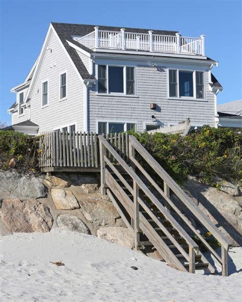 Small Beach House Lives Big  Beach Style Exterior