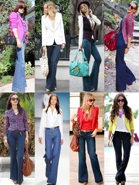 What to Wear with Flare Pants on Different Occasions | Gorgeautiful.com