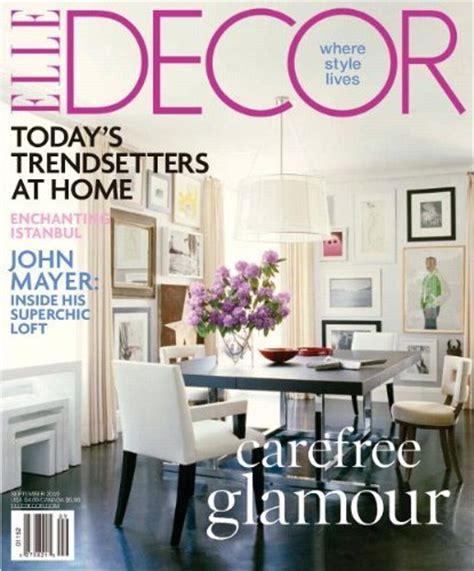 elle decor magazine 1 year subscription for 4 50