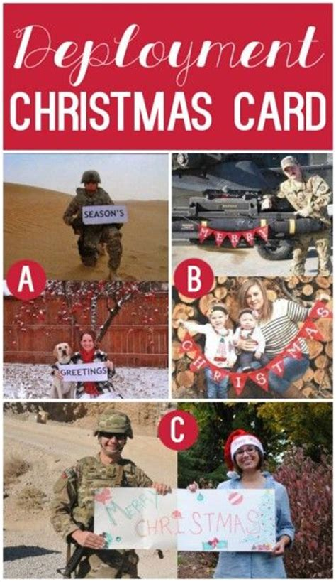 best christmas gifts for soldiers deployed 101 creative card ideas when your away creative cards