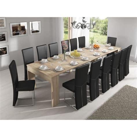 table de salle à manger extensible table de salle 224 manger extensible jusqu 224 301 cm ch 234 ne clair dimensions ferm 233 e 90x49x75 cm