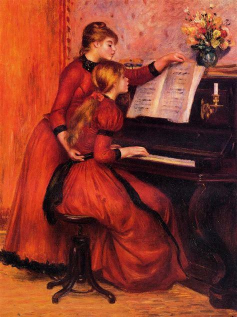 The Piano Lesson Pierre Auguste Renoir