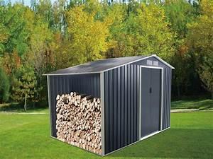 Abri De Jardin Acier : abri de jardin en acier galvanis agato gris 6 ou 12m ~ Dailycaller-alerts.com Idées de Décoration