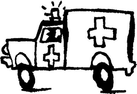 coloriage ambulances  lescoloriagesnet