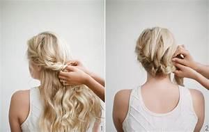 Coiffer Un Carré : comment se coiffer pour un mariage coiffure simple et facile ~ Farleysfitness.com Idées de Décoration