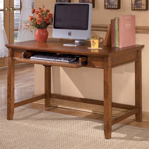 Ashley Furniture Cross Island Computer Desk In Medium