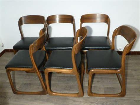 chaise traineau baumann 6 chaises baumann modele quot traineau quot 1965