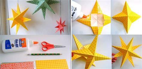 origami fuer weihnachten  weihnachtsstern faltanleitungen