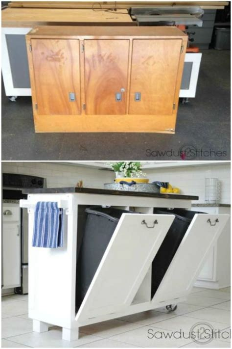 kitchen garbage storage 100 best home organization hacks for every single room in 1759