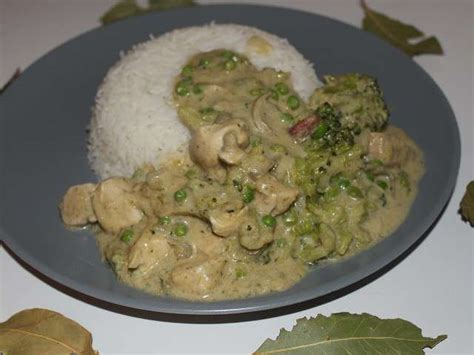 cuisine poulet curry vert recettes de curry vert