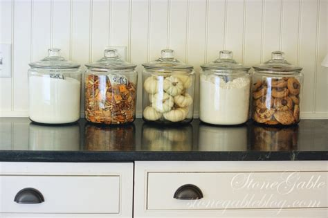 storage jars for kitchen 10 elements of a farmhouse kitchen stonegable 5879