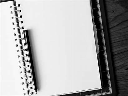 Blank Pen Notebook Ballpoint