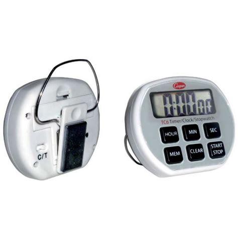 minuteur cuisine professionnel minuteur chronomètre digital de poche 6 fonctions