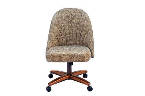 chromcraft furniture c128 936 swivel tilt caster side