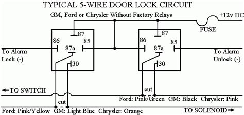 Gmc Sierra Power Door Lock Wire Diagram Wiring