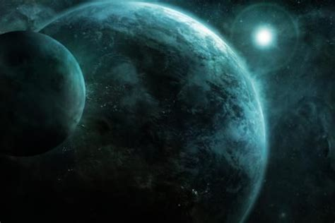 CGI Earth Moon concept art outer space wallpaper Image ...