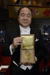 Receiving Nobel Prize