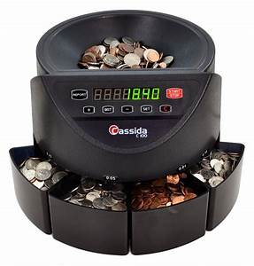 Cassida C100 Electronic Coin Counter And Sorter