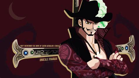 Dracule Mihawk (one Piece Wallpaper) By Chrisru On Deviantart