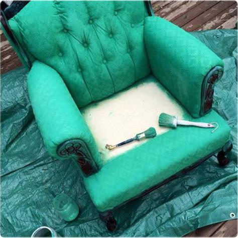 peindre le tissu d un fauteuil de conception de maison