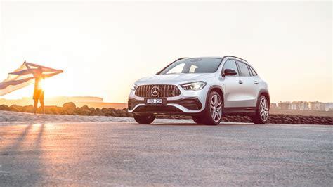 Окраска designo белый бриллиант, 2020 г.в. Mercedes-AMG GLA 35 4MATIC 2020 4K 2 Wallpaper | HD Car Wallpapers | ID #16359