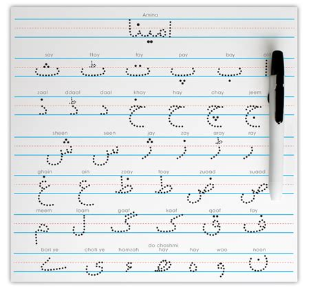 trace urdu alphabet www pixshark images galleries