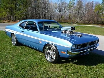 Dodge Demon Classic Muscle Cars Rod Engine