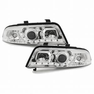 A4 B5 Scheinwerfer : drl tagfahrlicht optik scheinwerfer chrom f r audi a4 s4 ~ Kayakingforconservation.com Haus und Dekorationen