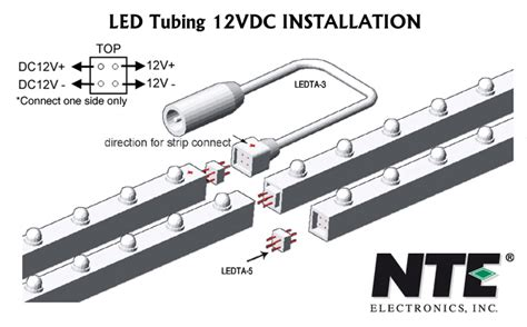 nte electronics led strips ls light bars