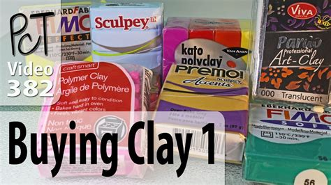Where To Buy Polymer Clay Youtube
