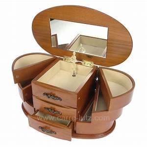 Boite A Bijoux En Bois : boite a bijoux musicale en bois visuel 3 ~ Teatrodelosmanantiales.com Idées de Décoration