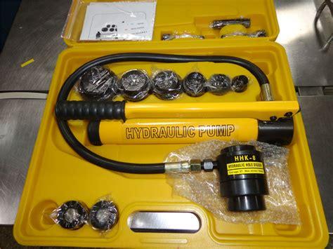 China Hydraulic Sheet Metal Hole Punch China Hydraulic