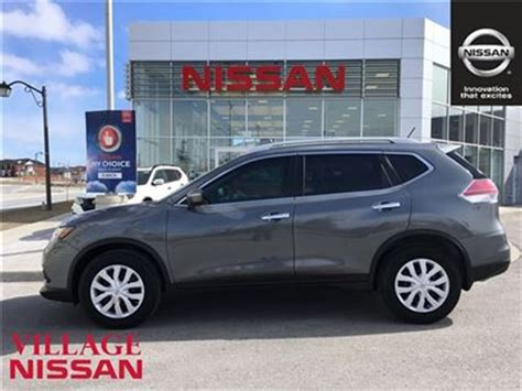 grey nissan rogue 2015 2015 nissan rogue s tinted windows ext warranty grey