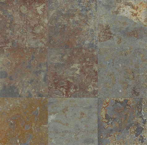 multicolor los angeles slate flooring tile 16x16