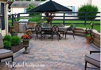 patio design pictures Fabulous Seating Wall Ideas for Your Patio – MyPatioDesign.com